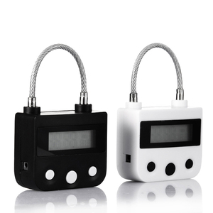 Image 2 - Cardoria USB נטענת זמן מתג נעילת תכליתי זמן מנעול ארון מנעול Candado דה Tiempo אלקטרוני זמן מנעול