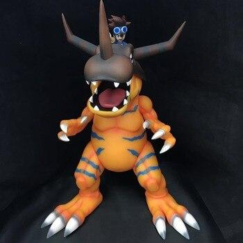 Japanese anime figure Digital Monster Greymon YAGAMI TAICHI action figure collectible model toys for boys