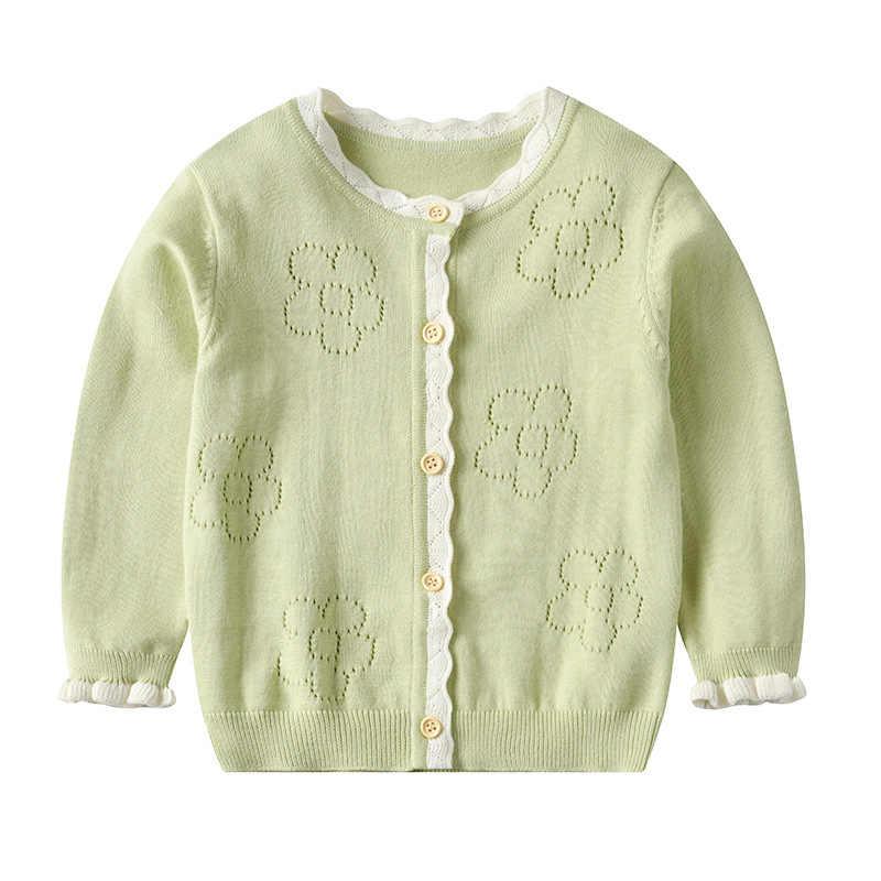 긴 소매 여자 스웨터 2020 봄과 가을 여자 아기 스웨터 꽃 여자 카디건 자 켓 RT599