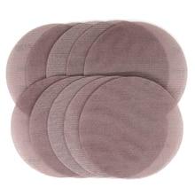 Абразивные диски из сетчатой ткани, 10 шт., абразивные диски без пыли, 9 дюймов, 220 мм, антиблокировочная сухая шлифовальная наждачная бумага, от 80 до 240 Грит
