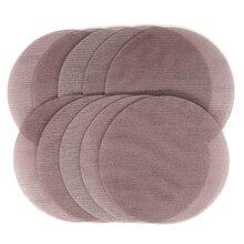 """Disques abrasifs, 9 """", 220mm, tissu à mailles, Anti blocage, grain 80 à 240, 10 pièces"""