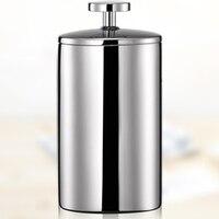 200 ml manual de aço inoxidável duplo leite espuma máquina de formação de espuma leite fantasia puxar flor dupla foamer branco|Espumador de leite| |  -