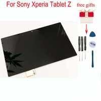 Para Sony Xperia Tablet Z smp321 10,1 LCD reemplazo de pantalla táctil Panel de montaje para smp311 SGP312