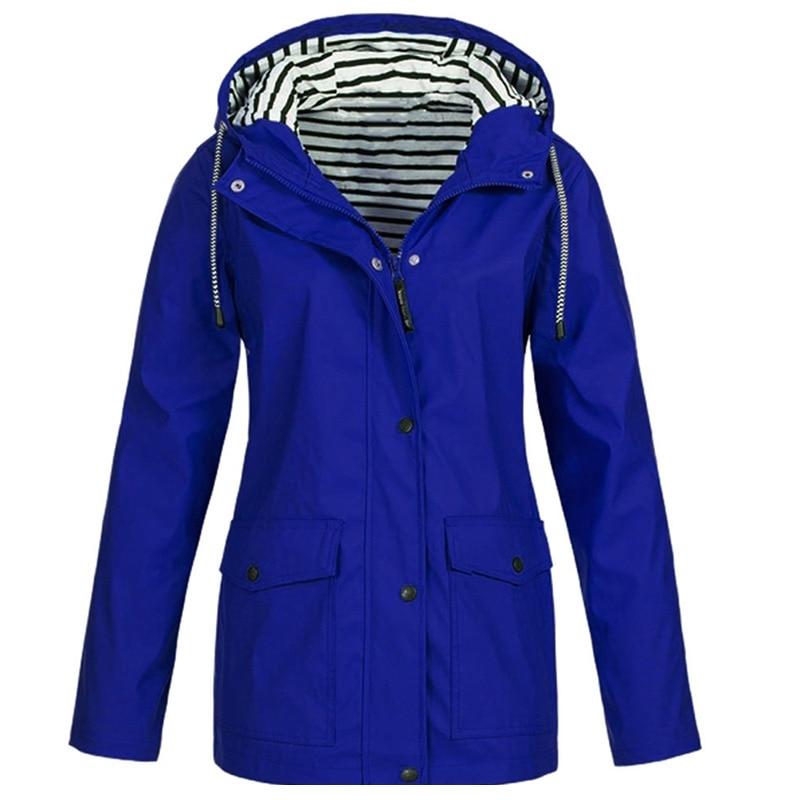 Winter Women Jacket, Waterproof Hooded