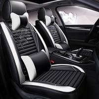 Full Coverage Eco leather auto seats covers PU Leather Car Seat Covers for Nissan almera leaf sentra tiida teana gtr juke dualis|Automobiles Seat Covers| |  -