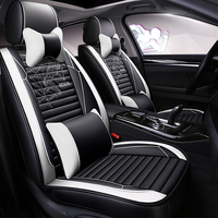 Full Coverage Eco leather auto seats covers PU Leather Car Seat Covers for Opel adam opel corsa astral astra insignia mokka anta|Automobiles Seat Covers| |  -