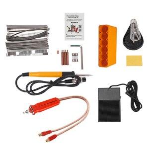 Image 5 - SUNKKO 709A بقعة لحام 1.9KW مصباح ليد نبض البطارية ماكينة لحام نقطي ل 18650 بطارية حزمة لحام الدقة بقعة لحام
