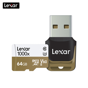 Image 5 - 100% オリジナルレキサー 150 メガバイト/秒 1000x マイクロ SD クラス 10 64 ギガバイトのマイクロ SDXC tf メモリカードリーダー uhs ドローンスポーツビデオカメラ