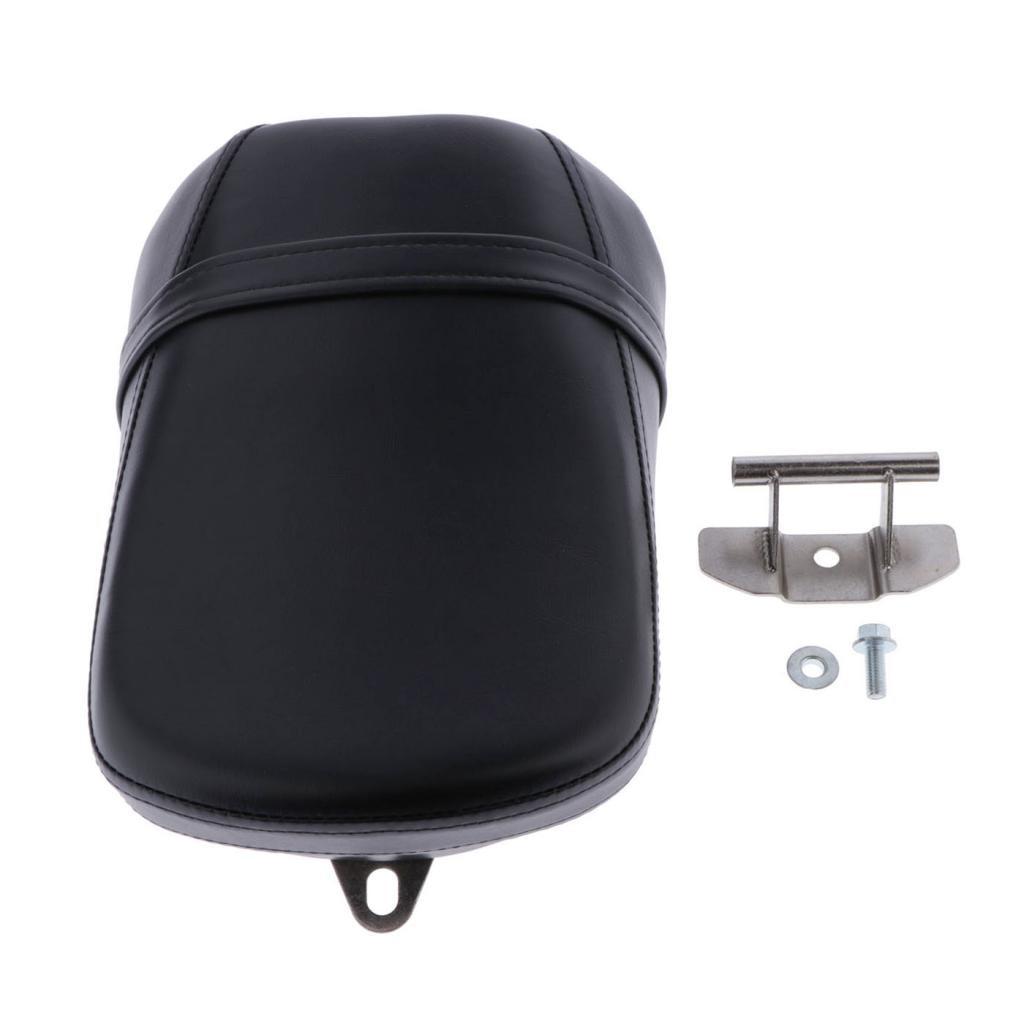 Black Motorcycle Rear Passenger Seat For Kawasaki Vulcan 650 VN650 2015-up