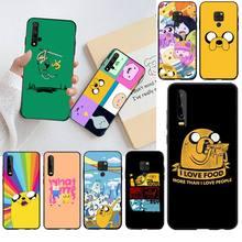 CUTEWANAN adventure time cute Beemo BMO Jake Finn Lumpy Phone Case for Huawei P40 P30 P20 lite Pro Mate 20 Pro P Smart 2019prime цена 2017
