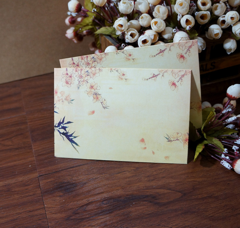 Sui Yue Fang Top Grade Envelope Chinese-style Retro Cool Envelope Of Bamboo Pole Words