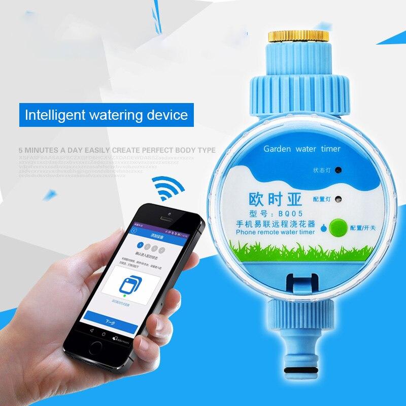 Wifi Automatische Garten Wasser Timer Smart Phone Remote Garten Bewässerung System Elektronische Bewässerung Timer Controller Sprinkler