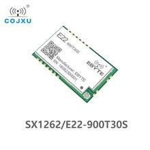 SX1262 1 واط UART لورا TCXO 915 ميجا هرتز وحدة E22 900T30S cdeyte وحدة لاسلكية 868 ميجا هرتز طويلة المدى IoT SMD IPEX واجهة الارسال