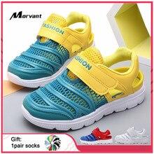 Kids Sandals Mesh Breathable Children's Sandals EVA Non-slip Soft Boys Girls