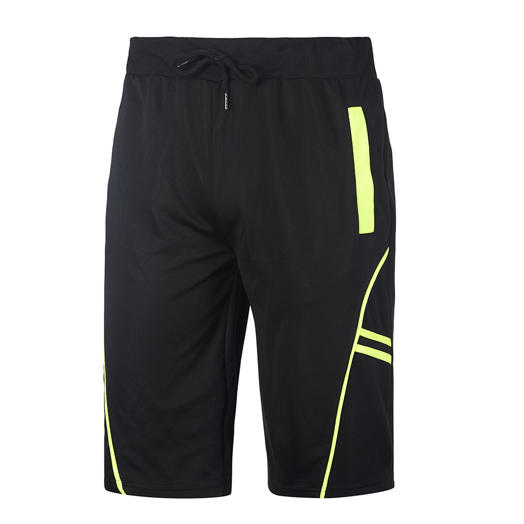 Summer Fashion Patchwork Mens Thin Shorts Men Bodybuilding Short Pants With Pocket Male Fitness Gyms Shorts For Workout Jan1