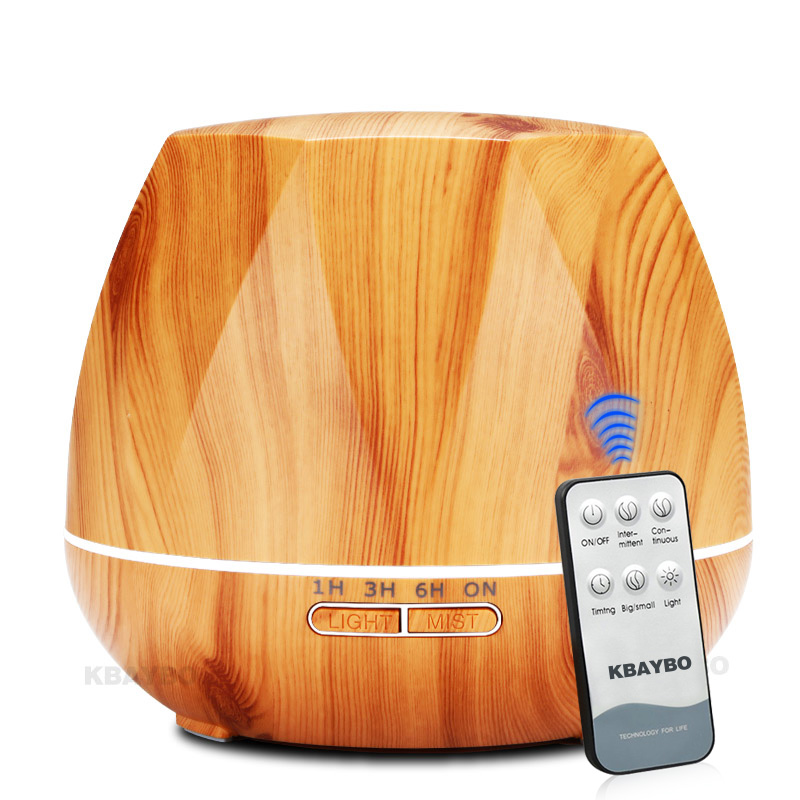 550 Ml Ultrasonic Humidifier Steam Air Aroma Diffuser Essential Oil Diffuser LED Night Light For Home Office
