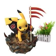 Anime Detective Pikachu Cosplay Hidan Deadpool Batman Darth Vader Naruto Kakashi PVC Action Figure Doll Collection Model Toy стоимость