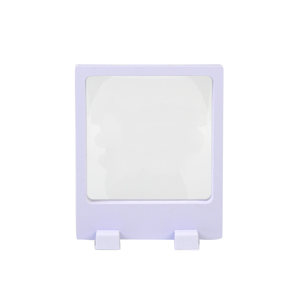 3D Anti Slip Durable Jewelry Display Stand Square Coin Presentation Multifunctional Fashion Floating Frame Protector Portable