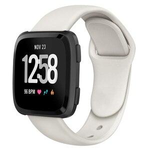 Image 5 - Ban Nhạc Dành Cho Fitbit Versa Dây Đeo Ngược Dây Khóa Thay Thế Vòng Đeo Tay Fitbit Versa Lite Dây Đeo Silicone Đồng Hồ Thông Minh Smartwatch Cổ Tay