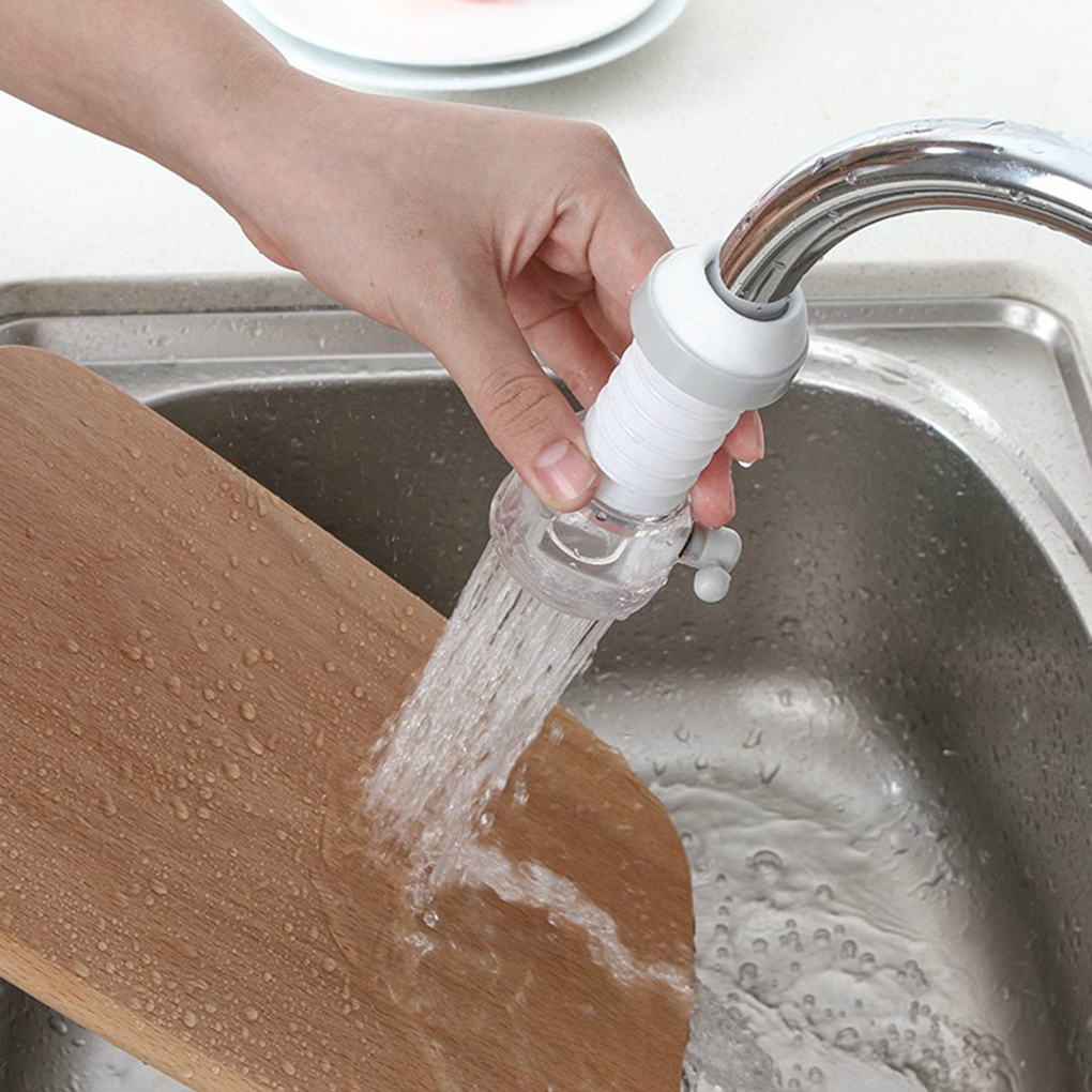 Innovative Kitchen Faucet Splash-Proof Universal Tap Extender Household  Water Rotatable Filter Sprayer Nozzle