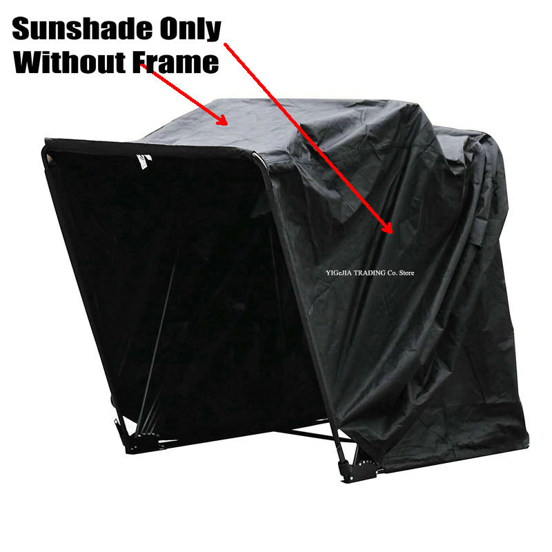 Sunshade Only Of Large Size Motorcycle Shelter, 345*188*190cm, Waterproof Motorcycle Cover Without Frame