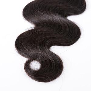 "Image 5 - Mocha Hair 10A pelo brasileño virgen cuerpo ondulado 4 mechones Color Natural 10 "" 24"" 100% cabello humano tejido 10 ""a 28"" envío gratis"