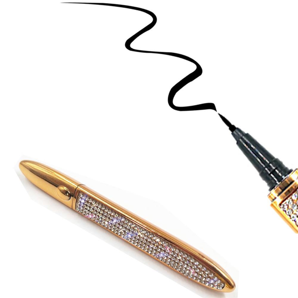 New Magic Self-adhesive Eyeliner Pen Glue-free Magnetic-free for False Eyelashes Waterproof No Blooming Eye Liner Pencil