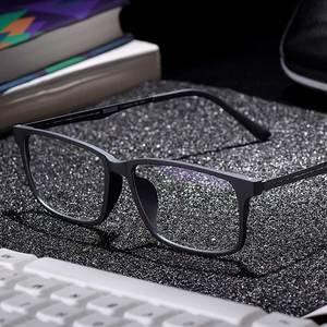 Image 2 - Naloain 近視眼鏡フレーム超軽量正方形の処方眼鏡チタン TR90 フレーム光眼鏡男性女性