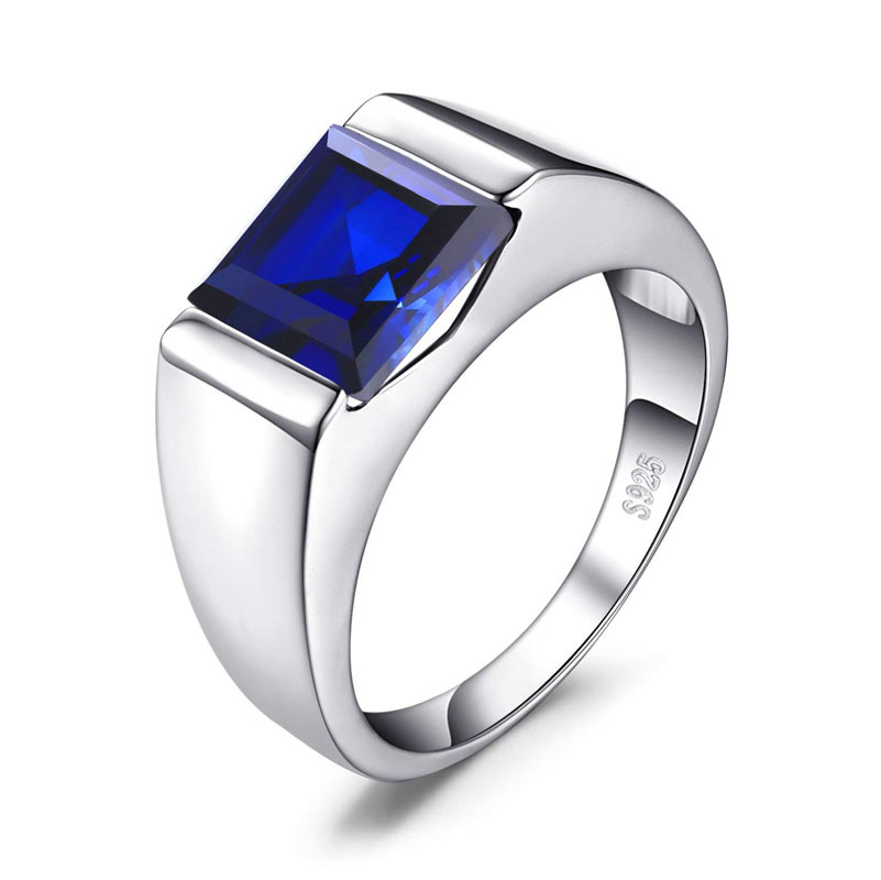 New Simple Fashion Design Male Female Hot Sale <font><b>Ring</b></font> <font><b>925</b></font> <font><b>Sterling</b></font> <font><b>Silver</b></font> <font><b>Rings</b></font> <font><b>For</b></font> Women <font><b>Men</b></font> Wedding <font><b>Ring</b></font> Jewelry Gift image