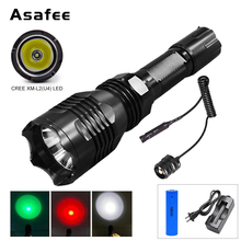 Brinyte B58 High Power Led Military Flashlight Portable Waterproof Hunting Daily Use Torch with Gun Mount Remote Switch