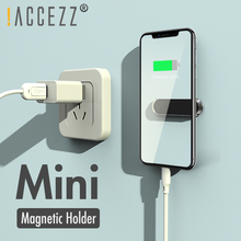 !ACCEZZ 1 Set Car Phone Holder Magnetic For iphone X Samsung Huawei Xiaomi Metal Magnet Mobile Mount Stand GPS Bracket