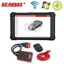 UCANDAS VDM V4.9 Scanner de voiture professionnel, outil de Diagnostic de voiture, système complet, SRS, EPB, TPMS, ABS, prise OBD2