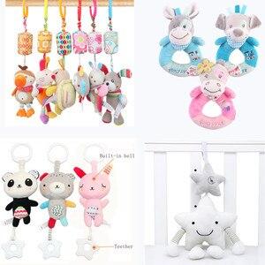 baby toys 0-12 month soft animal plush t