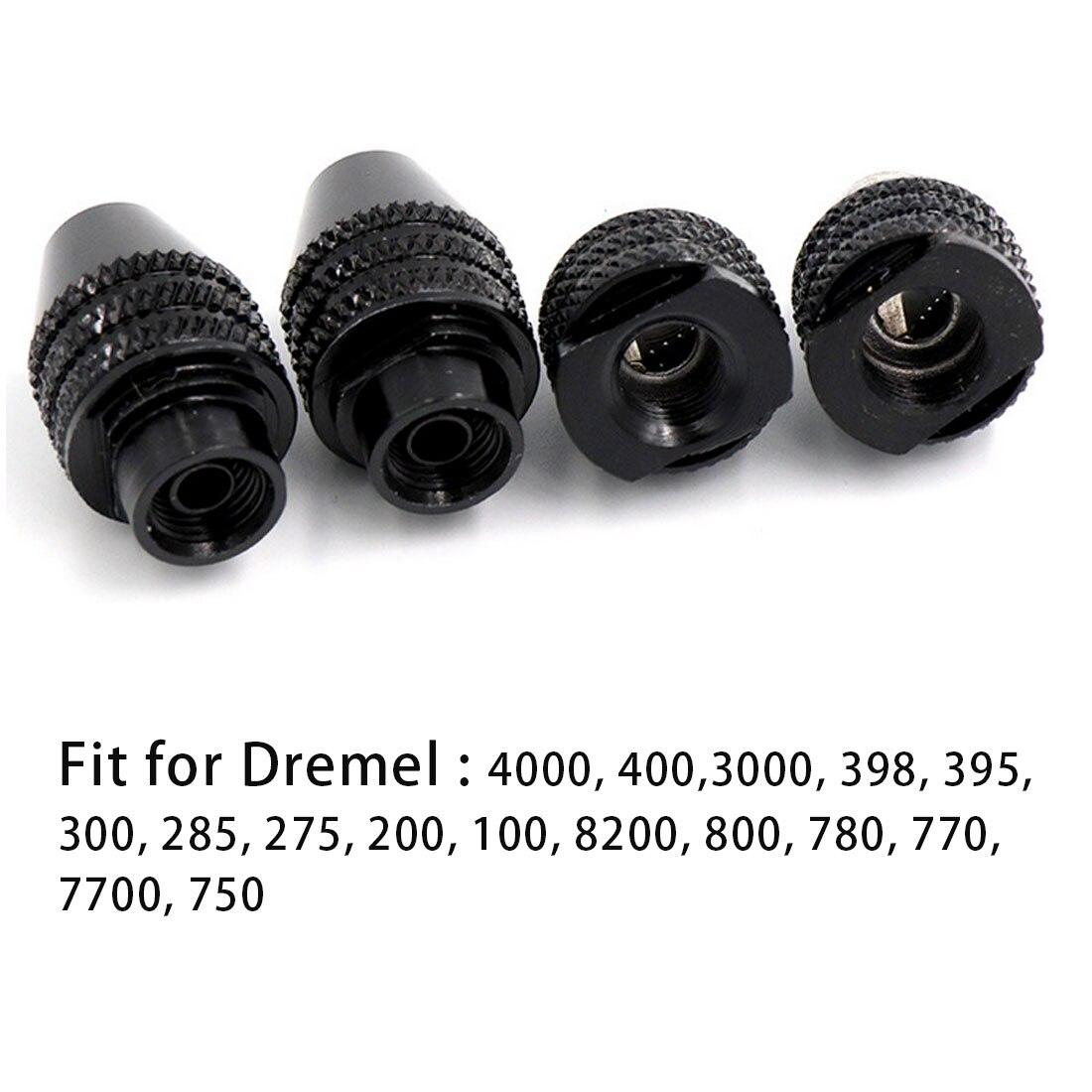 1Pcs 0.4-3.2MM Chuck Bit for Dremel 3000 4000 398 285 200 800 Rotary Tools