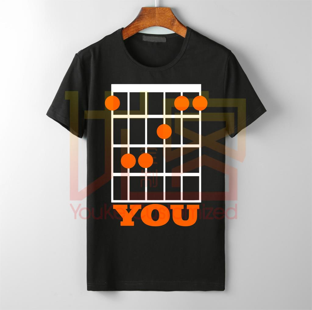 F You Funny Guitar Chord <font><b>T</b></font> <font><b>Shirt</b></font> - New Cool Gift for guitarist dad father <font><b>fender</b></font> high quality brand best-selling <font><b>T</b></font>-<font><b>shirt</b></font> men image