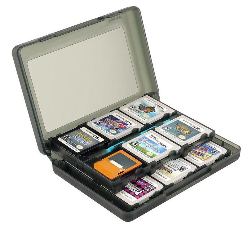 Чехол для Nintendo 2DSLL/XL, коробка для хранения карт памяти для видеоигр 28 в 1, чехол для карт памяти SD, 3DS/3DS LL/XL, 3DS/New 3DS LL/XL