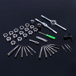 Image 3 - Ferramentas métricas ajustáveis para torneira, 40 unidades, suporte de rosca, chave de fenda, suporte de plástico para torneira t alça reparação de leitura