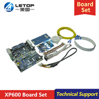 Hot sales! !Letop set mainboard and head board for double head xp600 for eco solvent printer (hoson system)