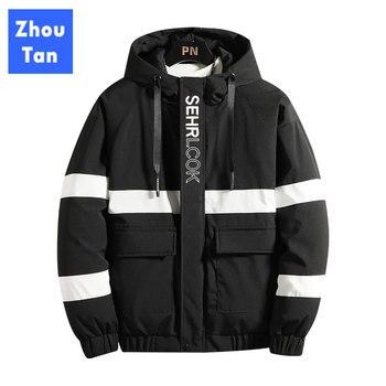 New Winter Jacket Men -20 Degree Thicken Warm Men Parkas Hooded Coat Fleece Man's Jackets Outwear Limited Genuine цена 2017
