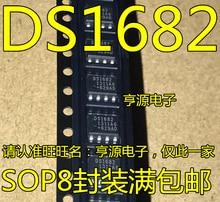 100% novo & original Em Estoque 5 pçs/lote DS1682 DS1682S DS1682S + TR SOP8