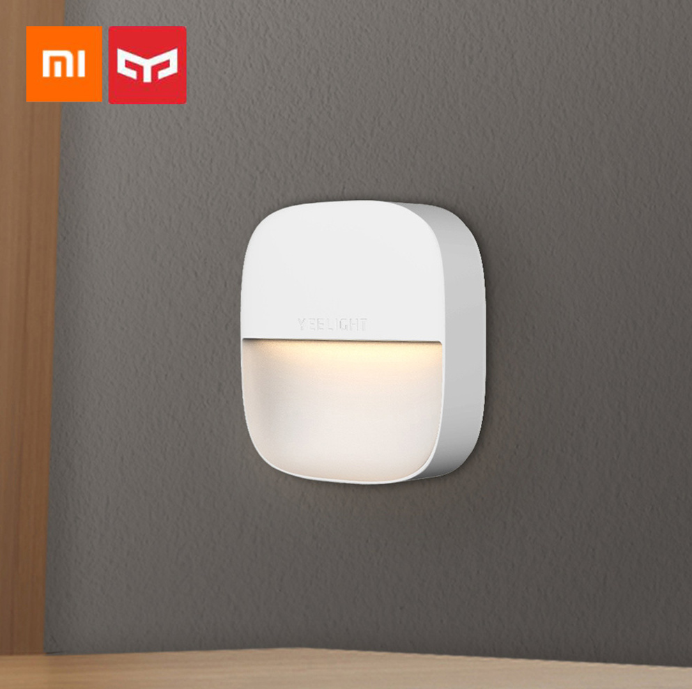 Xiaomi Mijia Yeelight YLYD09YL Square Light-controlled Smart Sensor Night Light Ultra-Low Power Consumption AC220V