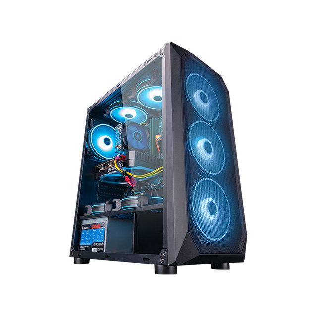 Intel Assembled Desktop Computer Intel Xeon E5-2650L 8-Core/RX560/GTX960 4G/16G RAM 240G SSD Cheap Gaming High Performance PC 4