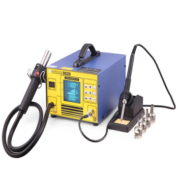 GORDAK 952D Hot Air Soldering Station Rework Station Heat blow dryer and soldering iron handle for soldering various components