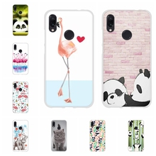 For Xiaomi Redmi 3 3s Case Soft TPU Silicone For Xiaomi Redmi Note 4 4X Note 7 7 Pro Cover Panda Pattern For Redmi Go Shell Capa philips daily collection hd4646 40