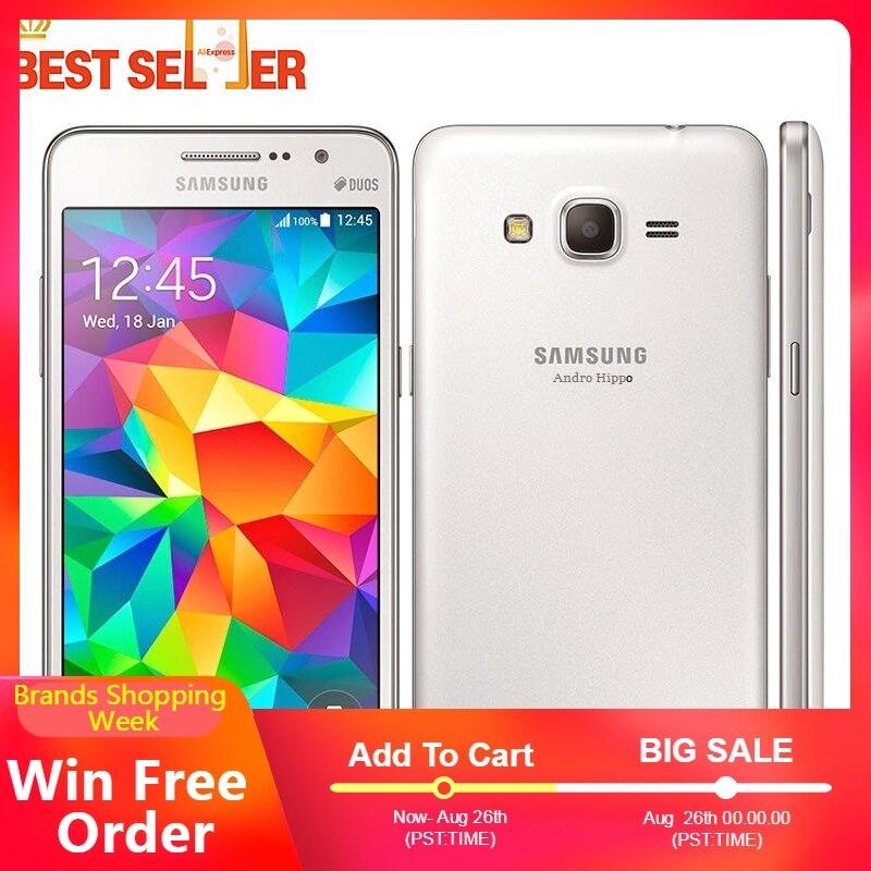 """Odblokowany Samsung G530 Galaxy Grand Prime G530H G530F smartfonów 5.0 """"podwójny SIM Quad Core Android 1080P odnowiony komórkowy telefon w Telefony Komórkowe od Telefony komórkowe i telekomunikacja na AliExpress - 11.11_Double 11Singles' Day 1"""
