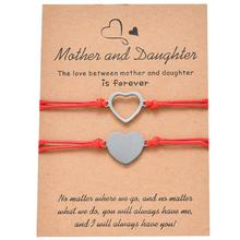 Mother and Daughter Wish Bracelets, Mother and Daughter Set, Mother Gift, Daughter Gift, Bracelets Gift mother