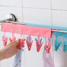 Hanger for Travel-Mesh Plastic Hook 6/Folding/Portable Clip