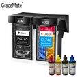 GraceMate PG745 CL746 чернильный картридж совместимый для Canon 745 746 для Pixma MX497 MG2470 2570 2570S 2970 3070 3077 IP2870 принтер