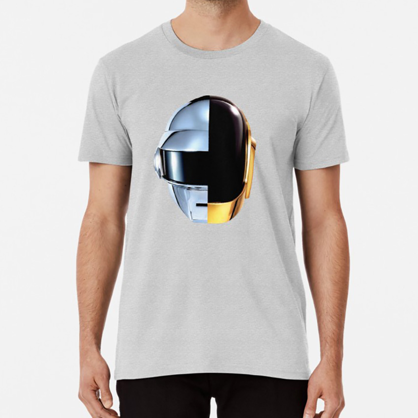 Daft Punk - Random Access Memories Head <font><b>T</b></font> <font><b>Shirt</b></font> Daft Punk Head Indie Music Rap Album Random Access Memories Techno <font><b>Skrillex</b></font> Guy image