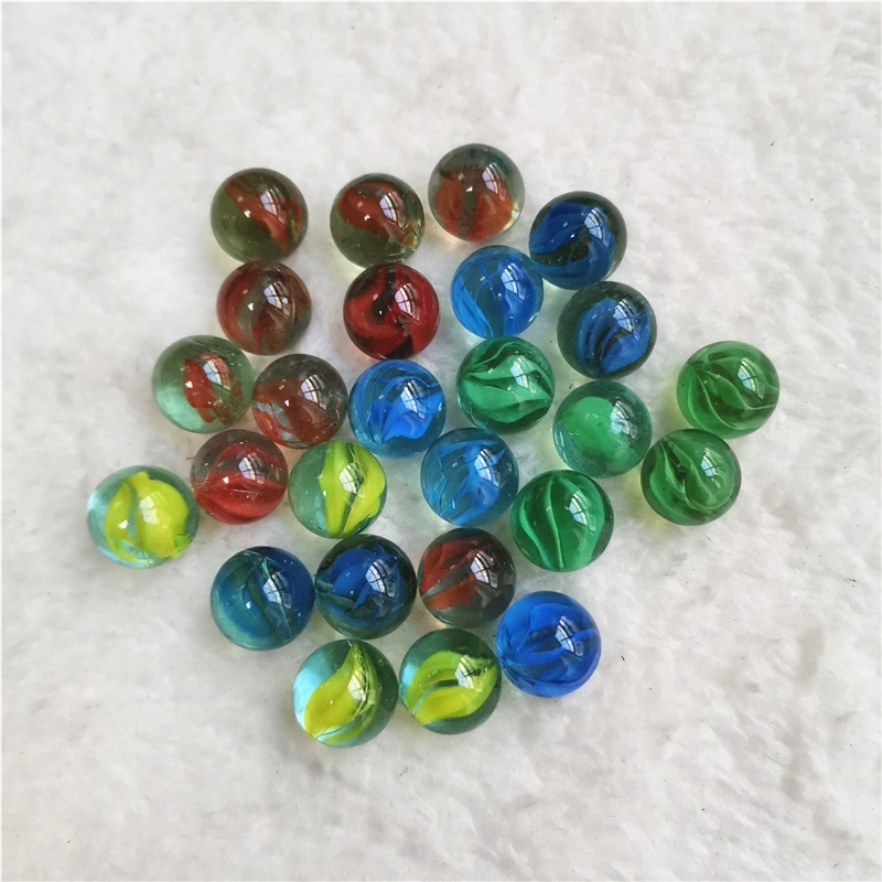 50pcs/lot Glass Marbles Pinball Machine Clear Balls Charms Vase Aquarium Home Decoration Toys For Kids Baby 14MM